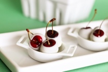 Amaretto Cherries by formalfringe