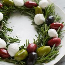 Antipasto Wreath by SweetPaulMag