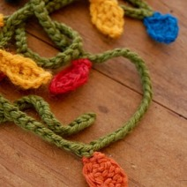 crochet garland from maryjane'sfarm