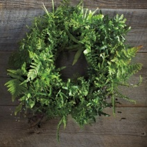 Fern Wreath from MarthaStewart