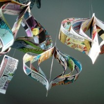 Paper Garlands from thesweetestoccasion