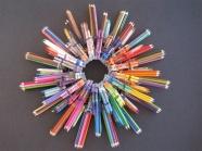 Pencil wreath by Kellygolightly