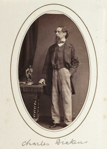 Charles Dickens c 1865, Flickr Commons
