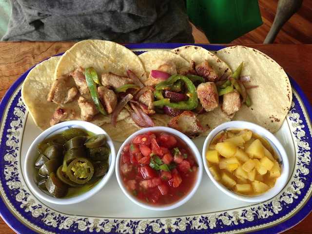 El Tipico lunch by Courtney McCubbin