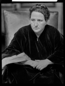 Gertrude Stein 1914, Flickr Commons