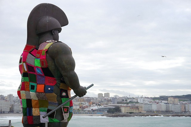 yarnbombing by =mc2 Flickr Commons